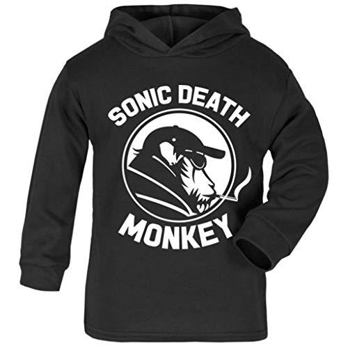 delity Sonic Death Monkey Baby and Kids Hooded Sweatshirt ()