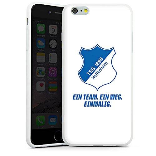 Apple iPhone 5c Hülle Case Handyhülle TSG Hoffenheim Fanartikel Fussball Silikon Case weiß