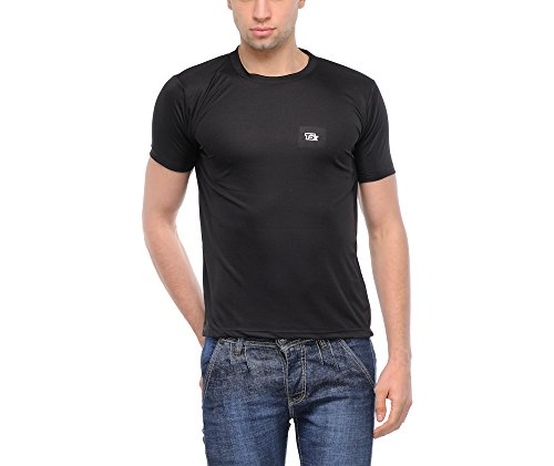 TSX Men's Dryfit T-shirt - TSX-DRYFIT-2-M  available at amazon for Rs.129