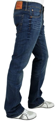 Levi's Herren Jeans 527 Boot Cut Fit Blau (Mostly Mid Blue)