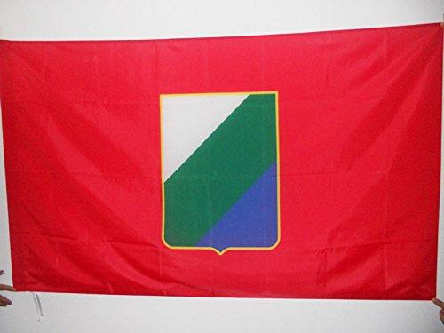 Az flag bandiera abruzzo 150x90cm - bandiera abruzzi - regione italia 90 x 150 cm foro per asta