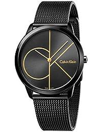 bd5e4c4b6e0b Calvin Klein Reloj Analogico para Hombre de Cuarzo con Correa en Acero  Inoxidable K3M214X1