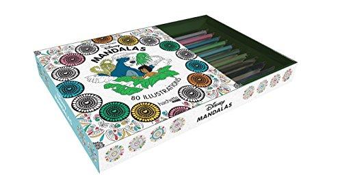 Mandalas Disney : 80 illustrations, avec 10 crayons en bois