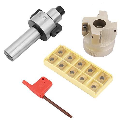 Hartmetalleinsatz-Kombination, c20-fmb22 Zylinderschaft-Verlängerungsstange 400r-50-22 Fräser 10 Stück Apmt1604 Cnc-Hartmetalleinsatz -
