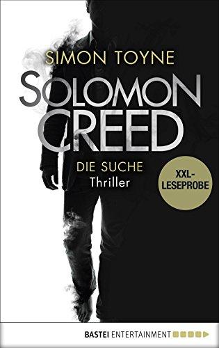XXL-Leseprobe: Solomon Creed - Die Suche: Thriller (Creed-Reihe 1)