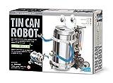 Dam - 4M - 5603270 - Jeu de construction - Kidzlabs Green Science - Robot en Fer-Blanc