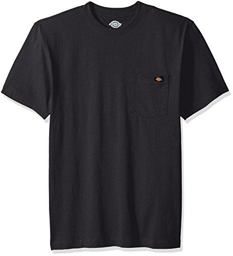 Dickies Herren T-Shirt mit Rundhalsausschnitt - grau - Klein - 100% Baumwolle-scrub-top
