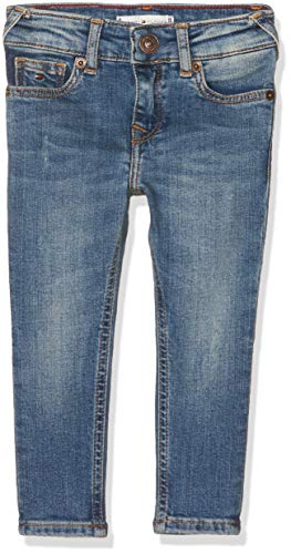 Tommy Hilfiger Baby-Mädchen Jeans Sophie Skinny ADUBST, Blau (Authentic Dusty Blue Stretch 911), 86