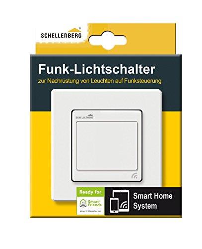 Schellenberg Smart Home Funk-Lichtschalter weiß - 2
