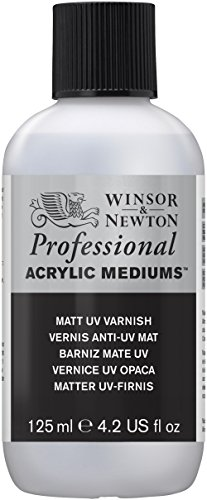 Winsor and Newton Matt UV Varnish 125ml (BTL)