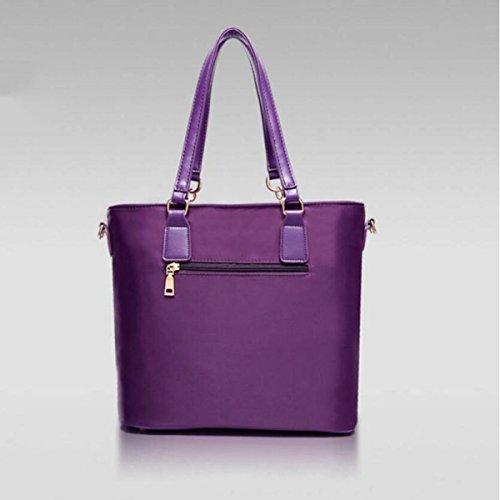Ladies Lingge Sei Serie Di Sub-package Borsa Borsa A Tracolla Diagonale Borsa Borsa Borsa A Mano Borsa A Mano Purple