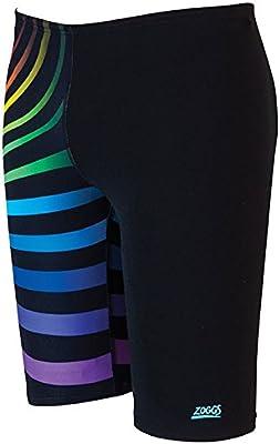 Zoggs Spectrum Jammer-Bañador para hombre, color negro/multicolor