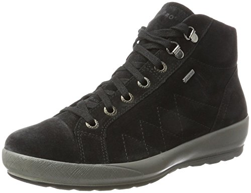Legero Olbia, Sneaker a Collo Alto Donna nero (nero)