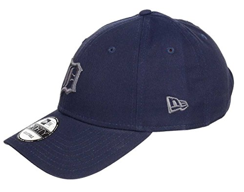 New Era Detroit Tigers 9forty Adjustable Cap League Essential Dark Navy - One-Size -
