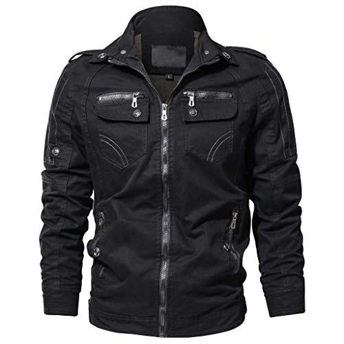 Preisvergleich Produktbild R-Cors Herren Herbst Winter Sport Charm Herren Casual Slim Fit Beiläufige Jacke Mantel Bekleidung atmungsaktiv Mantel