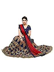Styles closet Womens Silk Lehenga Choli(7092_Blue)