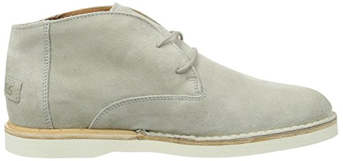 Shabbies Amsterdam Shabbies Desertboot Velourleder, Bottines Chukka femme Beige (Off White)