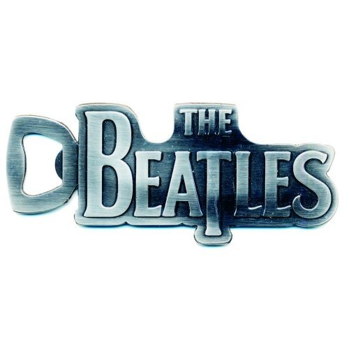 Logo-rockband (The Beatles - Rock Band Metall Flaschenöffner (The Beatles Logo))