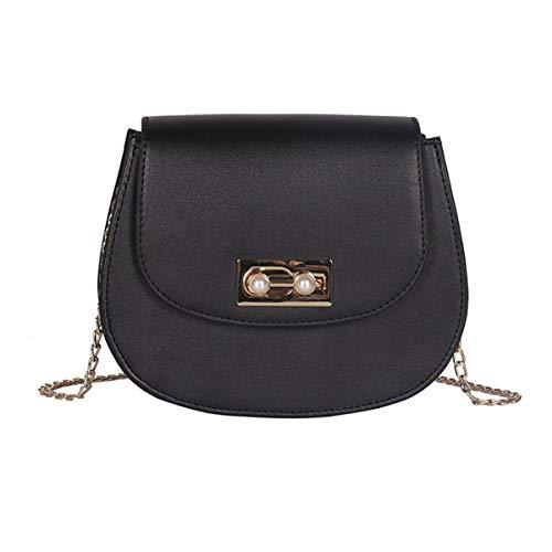 IHMBUI Damenmode Casual Leder Handtaschen Designer Klassische Lady Flap Umhängetasche Kleine Messenger Bags Weibliche Totes - Klassische Flap Bag