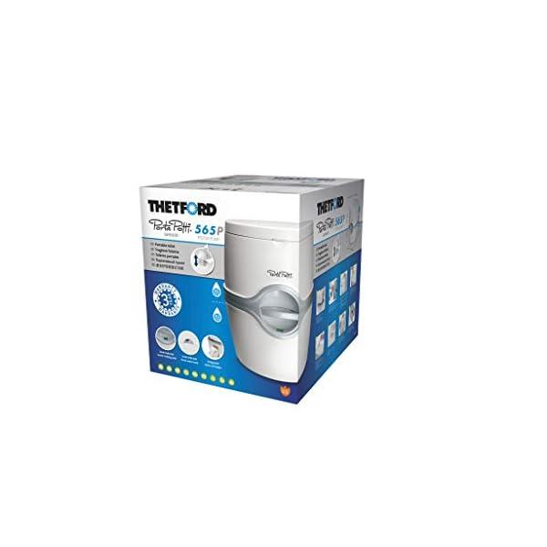Thetford 92305 Porta Potti 565P Excellence Portable Toilet (Manual), 448 x 388 x 450 mm 5