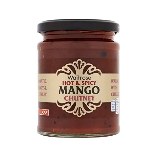 Mangue Chaude Chutney Waitrose 350G - Paquet de 4