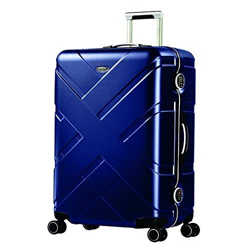 Eminent Crossover, Unisex-Erwachsene Koffer Blau blau/grau L