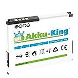Akku-King Batterie pour HTC Desire HD, G10, A9191, T8788, T9199, T-Mobile myTouch HD...