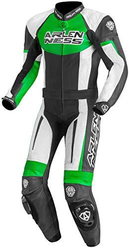 Arlen Ness Monza - Tuta da motociclista in pelle, 2 pezz
