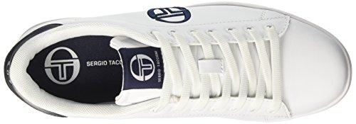 Sergio Tacchini Gran Torino, Sneakers basses homme Bianco (White/Deep)