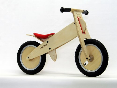 Preisvergleich Produktbild LIKEaBIKE mountain -Sattel rot- (KOKUA Like a Bike)