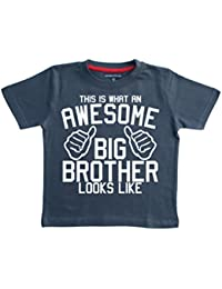 Edward Sinclair This Is What AN Awesome Big Brother Looks Like' Boys Children's T-Shirt