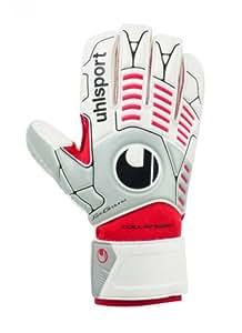 Uhlsport Ergonomic Goal Keeper's Gloves Soft R weiß/silber/rot Size:6