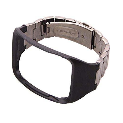 Transer compatibile per SAMSUNG GEAR S Sm-R750Watch per orologio bracciali lusso Fashion Arco Orologio Bracciale durevole acciaio inox braccialetto per orologi