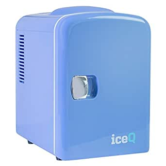 iceq 4 liter mini k hlschrank blau elektro gro ger te. Black Bedroom Furniture Sets. Home Design Ideas