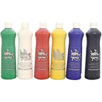 Scola Artmix 6 x 600 ml Paint (Coloured)