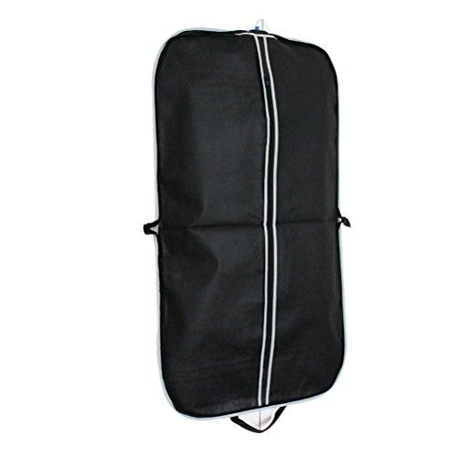 LEORX 3pcs Porta Anzüge, Anzug Kleidung Kleidung bedeckt Handtasche (schwarz)
