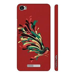 Enthopia Designer Hardshell Case Colourful Koyal Back Cover for Lava Iris X8