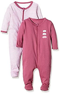 NAME IT Nitnightsuit Zip W/f Nb G Noos - Pijama Bebé-Niños