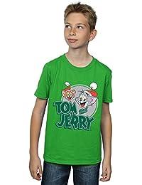 Tom and Jerry Niños Christmas Greetings Camiseta