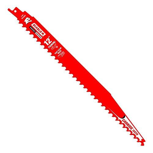 Beschneiden Säbelsägeblätter (Freud ds1203cp Diablo 30,5cm Hartmetallbestückt Beschneiden Säbelsägeblatt Blade 3tpi-fast Holz (1Pack))