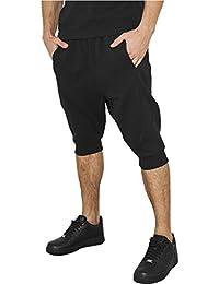 Urban Classics Deep Crotch Undefined Sweatshorts, Pantalones Cortos Deportivos para Hombre