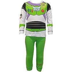 Disfraz de Disney Buzz Lightyear para niños de 4 a 5 años (110 cm)