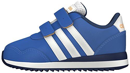 adidas - V Jog Cmf Inf, Scarpe da ginnastica Unisex – Bimbi 0-24 Azul (Azul / Ftwbla / Dorsol)