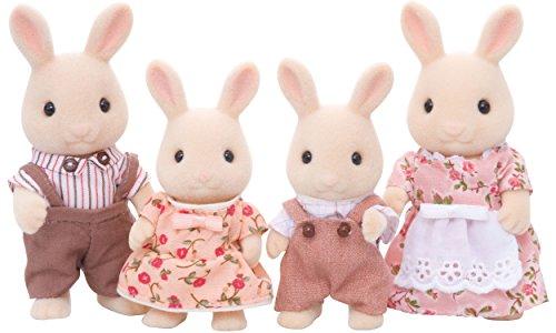 SYLVANIAN FAMILIES Familia Conejos Chocolate 20.6 x 17.0 x 6.1 Epoch para Imaginar 4150