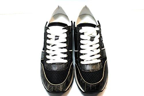 Trussardi Jeans 79S045 Grigio e Nero Sneakers Donna Scarpa Sportiva Nero