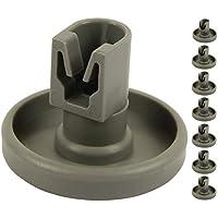 Spülmaschine Unterkorbrollen | Inhalt: 8 Stück | geeignet für AEG Favorit, Privileg, Zanussi, uvm. | von McFilter