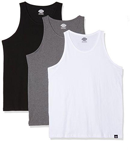 Dickies Herren Pullunder Vest Multi Pack, Mehrfarbig (Assorted Colour As), XXXX-Large