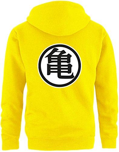 EZYshirt® Son Goku Herren Hoodie | Herren Kapuzenpullover | Herren Pullover