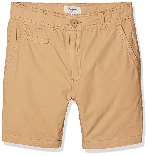 Pepe jeans adam pantaloncini da bagno, marrone (sandstorm 115), 11-12 anni (taglia produttore: 12) bambino