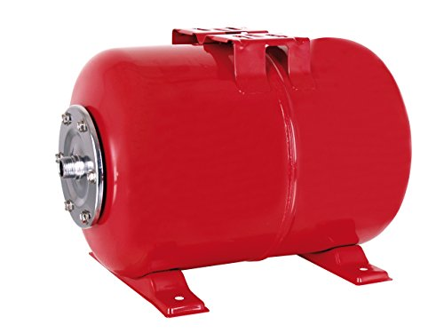 T.I.P. 30995 Hauswasserwerk Druckkessel Membrankessel Edelstahl, 22 L 33,25 mm, 1 Zoll AG